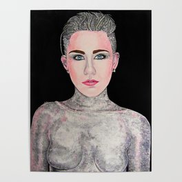 Sparkly Miley Poster