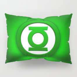 Green Lantern: Superhero Art Pillow Sham