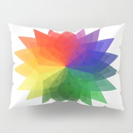 Color Wheel Inception Pillow Sham