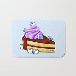 Choc Penguin Cake Bath Mat