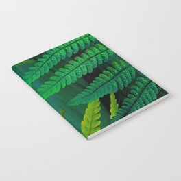 Forest Fern Green Notebook