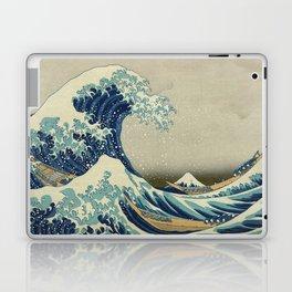 Ukiyo-e, Under the Wave off Kanagawa, Katsushika Hokusai Laptop & iPad Skin