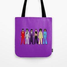 Outfits of Purple Fashion on Purple Tote Bag