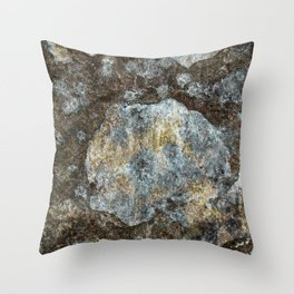 Old stone wall Throw Pillow