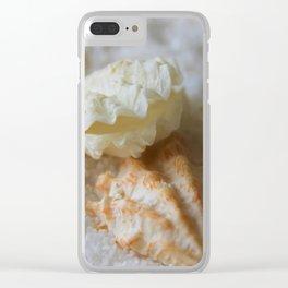Seashells 1 Clear iPhone Case