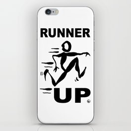 RUNNER UP iPhone Skin
