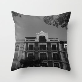 Evening in Madrid Throw Pillow