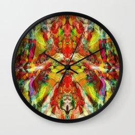 The warm hypnosis Wall Clock