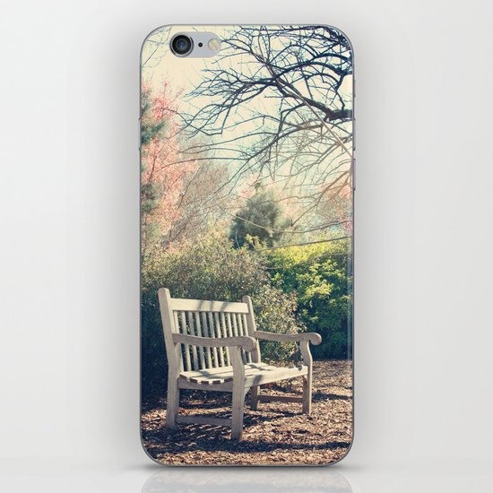 Waiting for you! iPhone & iPod Skin