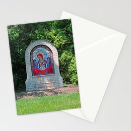 Lourdes University-  Commemoration of the Unborn in the Spring -vertical Stationery Cards
