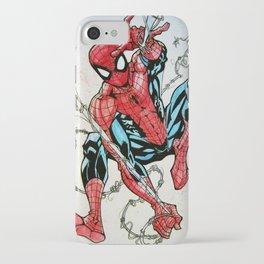 Wall Crawler Spider-Man iPhone Case