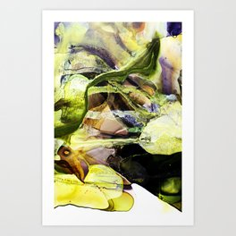 Reality with Contrast Art Print