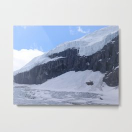 Athabasca Glacier, Canada Metal Print