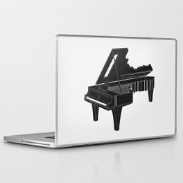 Music Is The Key B Laptop & iPad Skin