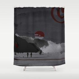 Time Walk Shower Curtain