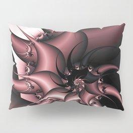 Thorny Cactus Fractal Pillow Sham