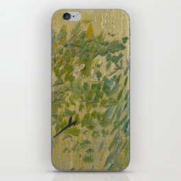 Exterior of a Restaurant in Asnières iPhone Skin