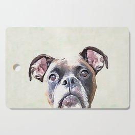Brindle Boxer Dog Cutting Board
