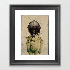 Masque 1 Framed Art Print
