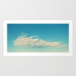 My Cloudy Sky Art Print