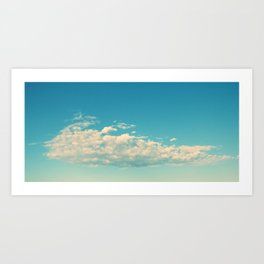 My Cloudy Sky Art Print