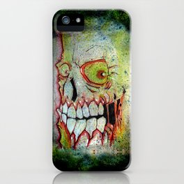 the SKULL iPhone Case