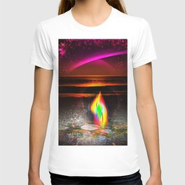 Our world is a magic - Sunset T-shirt