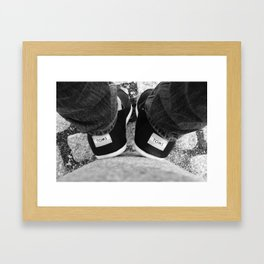 The Two Toms Framed Art Print