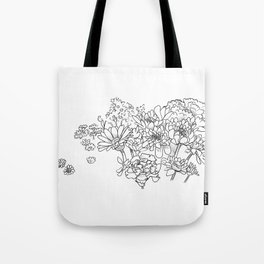 Bouquet (fraction) Tote Bag