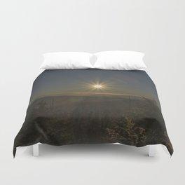 Sunset in the Smokeys Duvet Cover