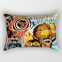 Head full of dreams Rectangular Pillow