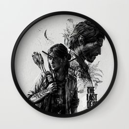 The Last of Us Part II Wall Clock