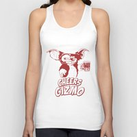 gizmo Tank Tops featuring Cheers Gizmo by Roma