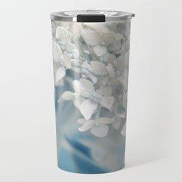 Beautiful White Hydrangea 276 Travel Mug