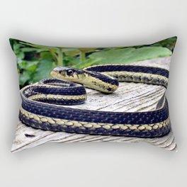 Garter Snake, High Park Gardens Rectangular Pillow