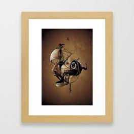 destructured pirate #Hook Framed Art Print