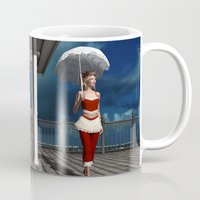 scandal Mugs featuring Victorian summer scandal by Britta Glodde