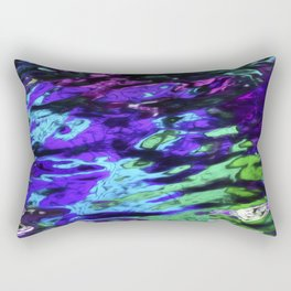 Color Reflected in Water Rectangular Pillow
