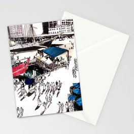 South Street Seaport, NYC Stationery Cards