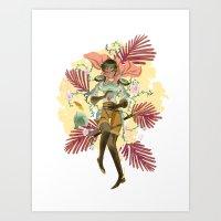 berserk Art Prints featuring Casca by Kerederek