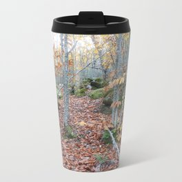Chestnut Forest in the Fall Metal Travel Mug