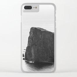 Rocher Percé Clear iPhone Case