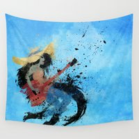 marceline Wall Tapestries featuring Sweet Licks by Melissa Smith