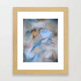 Old Romantic Sky Framed Art Print