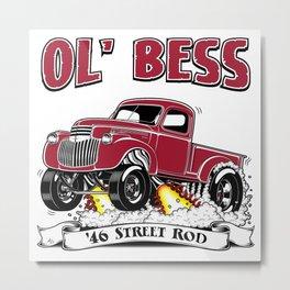 Ottman's 46 Street Rod Metal Print