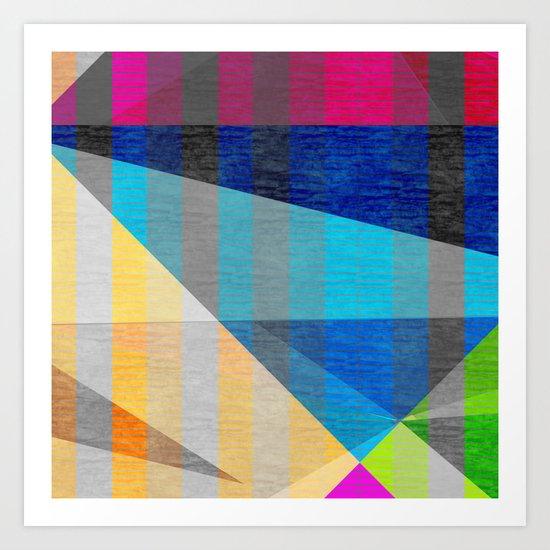 GridLock Art Print