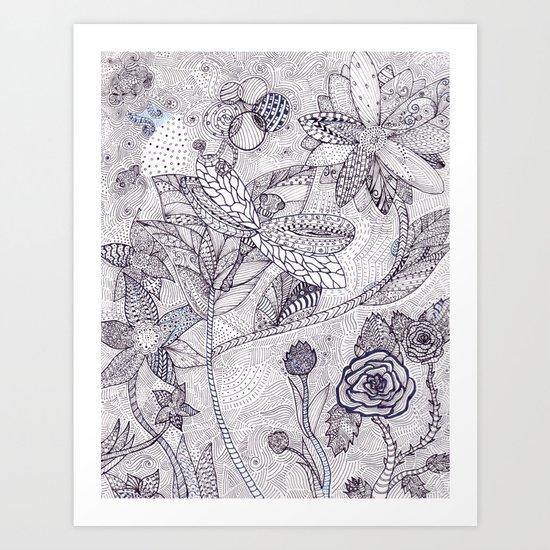 Garden Whims Art Print