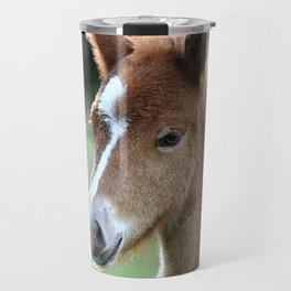 Aqua_Horse_20180101_by_JAMColorsSpecial Travel Mug