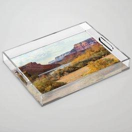 Lee's Ferry, Arizona Acrylic Tray