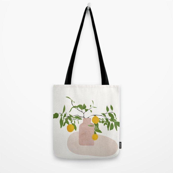 Lemon Branches Tote Bag